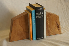 Large Beech Bookend