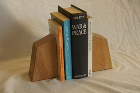 Small Beech Bookend