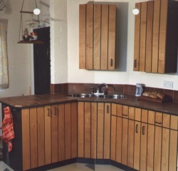 Kitchen made from Sweet Chestnut