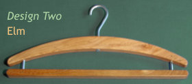 Coat Hanger Design 2 (Elm)