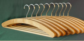 Coat Hanger Design 4 (Ash x 10)