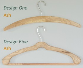 Coat Hanger Design 5 (Ash)