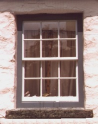One of a set of sash windows, for a listed building, which needed replacement